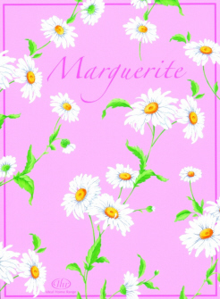 Marguerite rose scented sachet